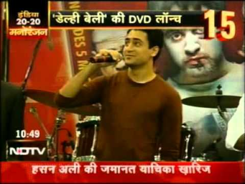 Excel Home Entertainment Delhi Belly NDTV India 20-20 News 30...
