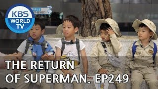 The Return of Superman | 슈퍼맨이 돌아왔다 - Ep.249: From Mount Halla to Mount Paektu [ENG/IND/2018.11.04]