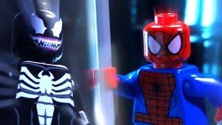 "LEGO SPIDERMAN VS VENOM ""The Haunting"""