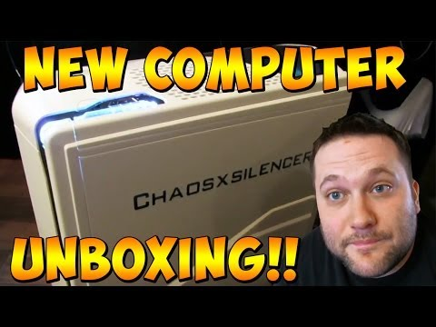 MY NEW COMPUTER!! UNBOXING from @IronsidePC