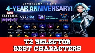 [MFF] BEST T2 SELECTOR CHARACTERS!!!