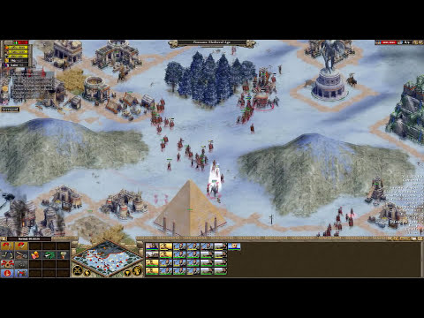 Rise of Nations Extended Edition Multiplayer - 1vs1 Brom vs SergiuHellDragoonHQ | Deathmatch [HD]
