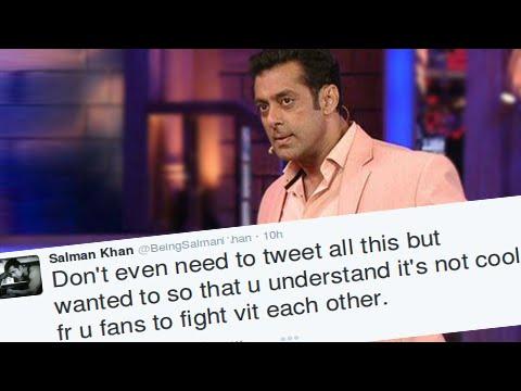 Salman Khan SLAMS Abusing Fans On Twitter