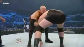 Kane Vs Mike Knox WWE Smackdown (4/12/2009)