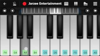 Main Agar (Tubelight), Atif Aslam, Salman Khan - Easy Mobile Perfect Piano Tutorial