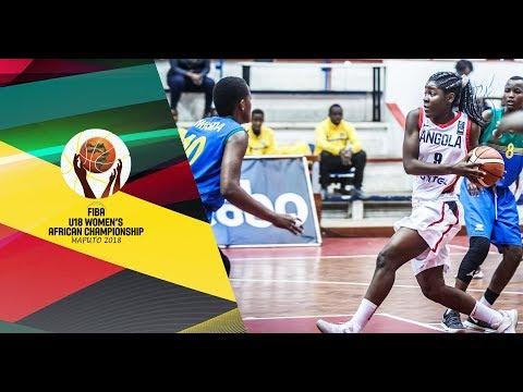Angola v Rwanda - Full Game - 3rd Place - FIBA U18 Women's African Championship 2018