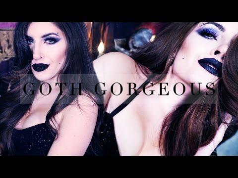 Jessica Rabbit Inspired Sexy Halloween Makeup   Goth Gorgeous video
