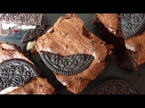 Cómo hacer Brownie de Galletas OREO   LHCY