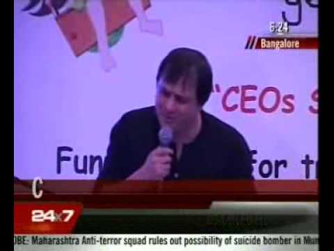 GENESIS FOUNDATION - 3rd  CEOs Sing for their Supper  17/07/2011  NDTV 24X7 0624AM