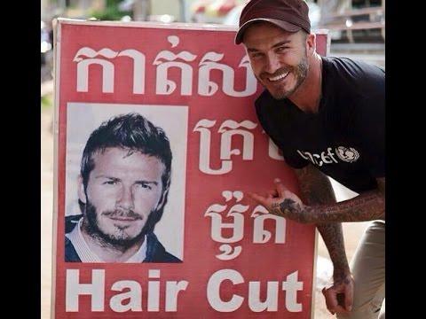 David Beckham Visit Cambodia, Angkor Wat, Siem Reap, Unicef, David Beckham