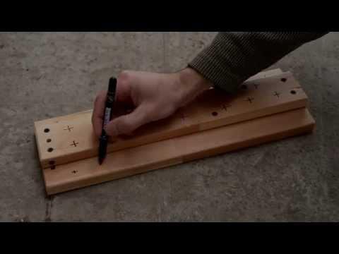 Нахлыст. Изготовление подставки для вязания мушек.