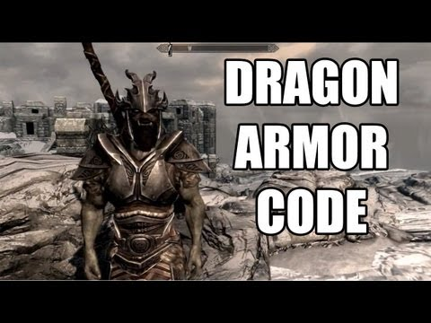 The Elder Scrolls V: Skyrim Cheat Codes For PC Dragon Armor