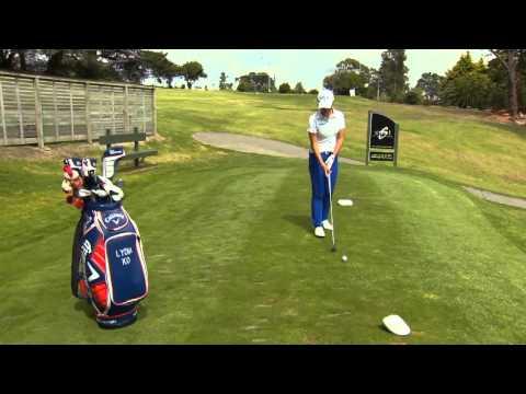 ANZ Lydia Ko Golf Challenge - Shot set up 1