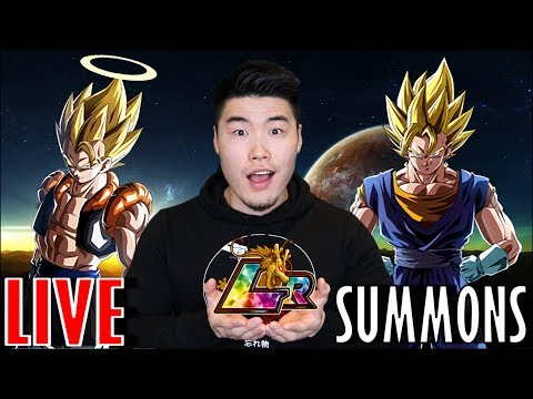 ALL THE LR SUMMONS!!! Dragon Ball Z Dokkan Battle