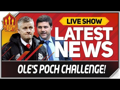 Solskjaer Facing Pochettino Backlash Man Utd News Now