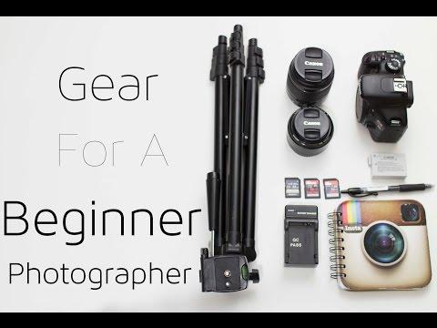 Camera Gear for Beginners