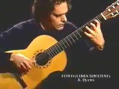 Roland Dyens - Fuoco (Libra Sonatine) Video