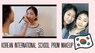 Prom Makeup GRWM | Korean International School