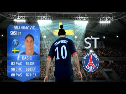 FIFA 14   FUT   Player Review   TOTY 96 Zlatan Ibrahimovic   Ep. 13