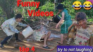 Must watch new funny 😂😂 - Phim Hai VietNam || Comedy Videos 2019 || Tập 4 || Man TV