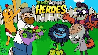 PLANTS VS ZOMBIES HEROES - Episode 6,7,8,9,10 - Complete ANIMATION!