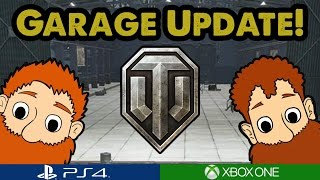 WoT - GARAGE UPDATE! - What's in our garages? (Xbox/PS4)