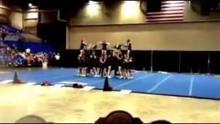 Pea Ridge High School Cheer 2014 State Champions