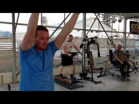 5th Video in Greenhouse Gym Series with Mark Freeman 408 - Apr 2, 2013