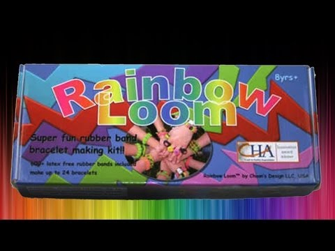 Rainbow Loom Review and Basic Bracelet Tutorial