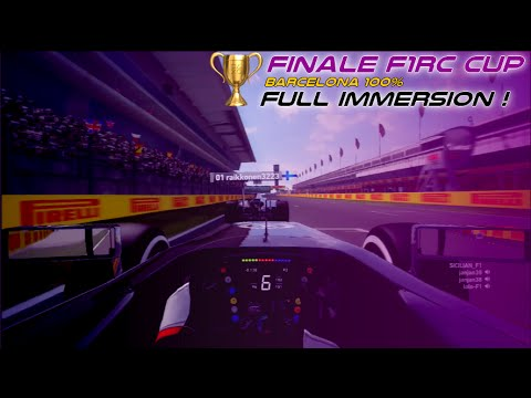 F1 2014 PS3 | Spain GP 100% | Finale F1RC CUP | Full immersion