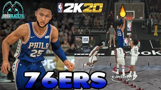 This 76ers Team Are Dangerous To Deal With - NBA 2K20 Play Now Gameplay