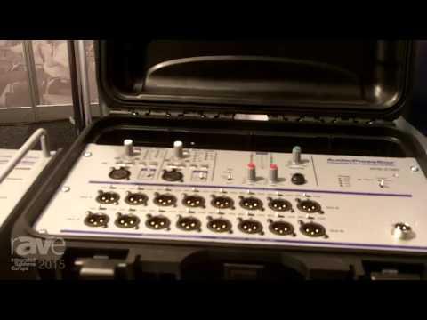 ISE 2015: Audio Press Box Showcases Their Press Boxes