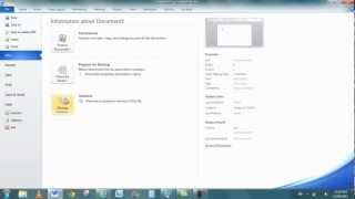Microsoft Office 2010 Training
