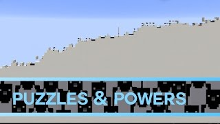 Puzzles & Powers: Minecraft Puzzle Map