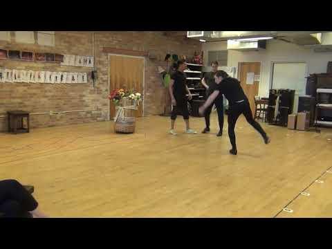 KISS ME, KATE Rehearsal: Tap Dancing
