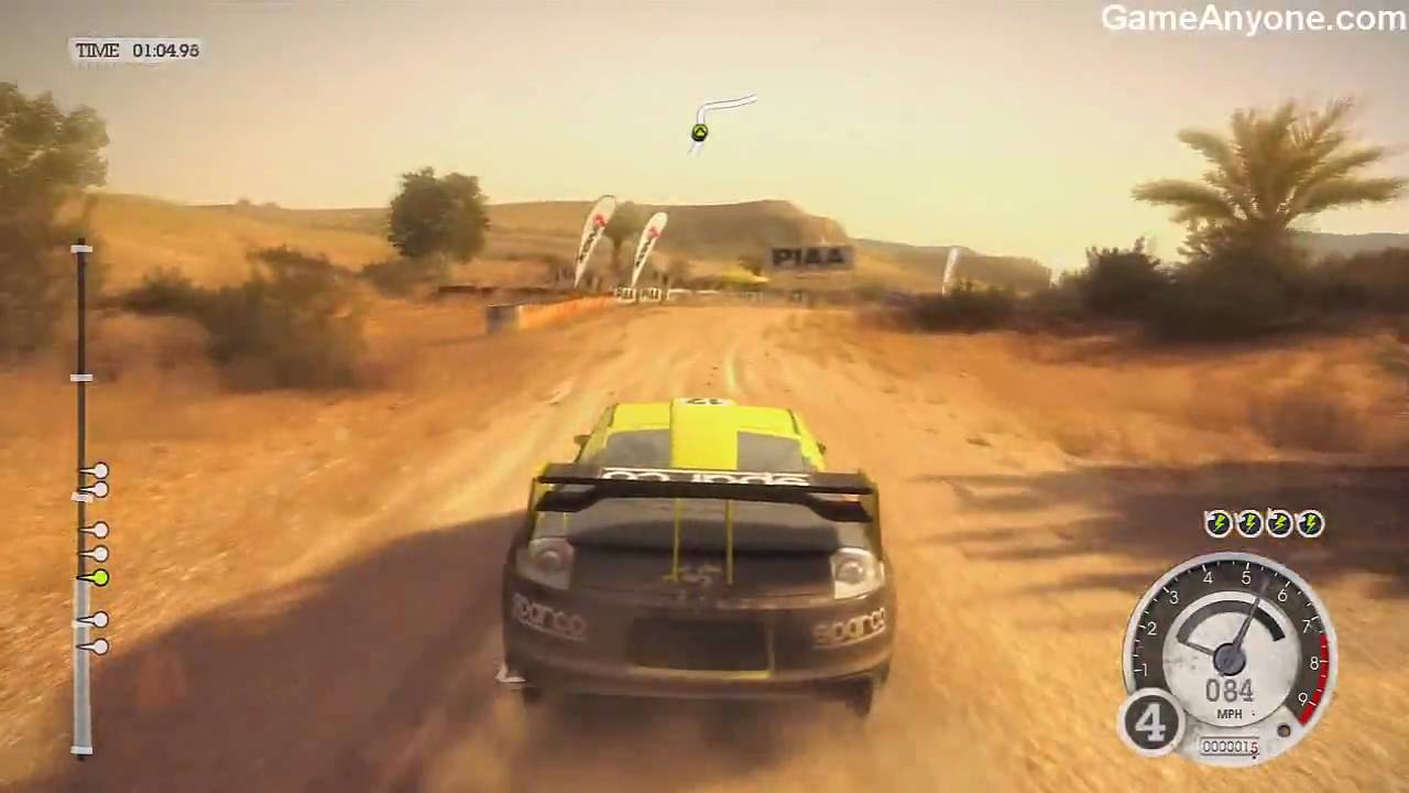 Make The Cut >> Colin McRae: Dirt 2 - Demo Gameplay - YouTube
