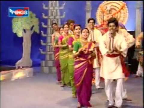 Marathi Devotional Song - Ambabai Navri Natalii - by Chhagan...
