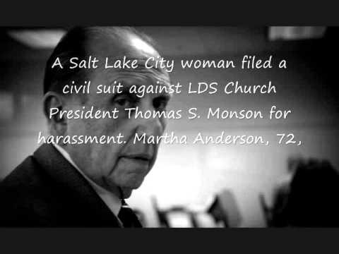 Mormon President Thomas S. Monson not so nice