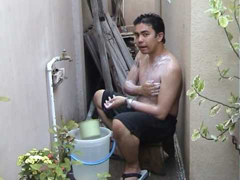 filipino nude pic in the bath
