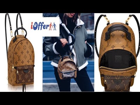 iOFFER - Louis Vuitton Palm Springs Backpack Mini Unboxing /Review