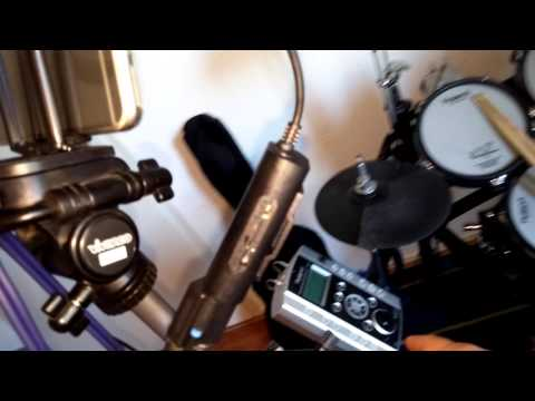 How to make a drum cover good quality sound using the irig 2