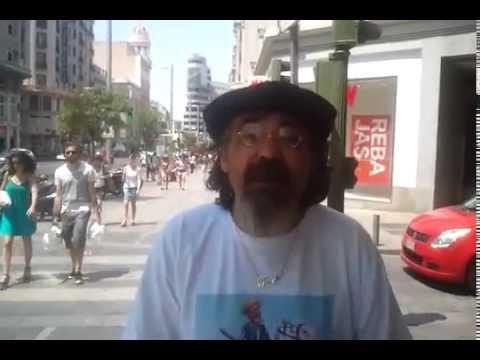 Miguel González - Poeta Comunero - de paso por Madrid