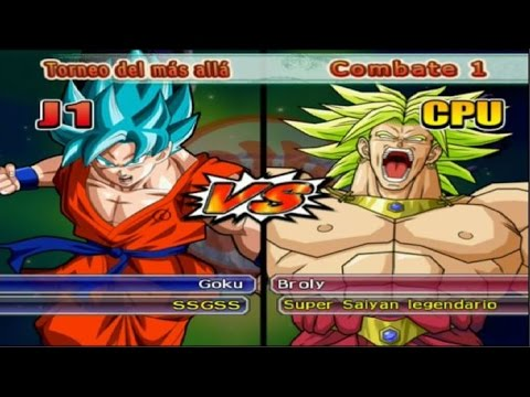Dragon Ball Z Budokai Tenkaichi 3 - Versión Latino *Torneo del más allá - Goku SSGSS