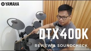 #Review Drum Elektrik (Electric Drums) Yamaha DTX400K Indonesia