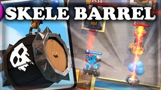 How to Use & Counter Skeleton Barrel | Clash Royale