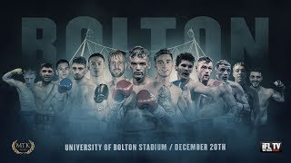 LIVE PROFESSIONAL BOXING! - MTK GLOBAL PRESENTS 'FIGHT NIGHT BOLTON' - (FULL CARD)