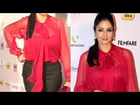 Sridevi Adjusting Her Pants Busty Top video