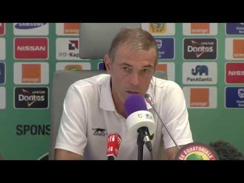 Guinée - Conférence de presse (26/01) - Orange Africa Cup of Nations, EQUATORIAL GUINEA 2015