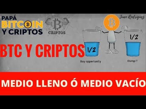 Bitcoin y criptomonedas | Vaso medio lleno o medio vació |