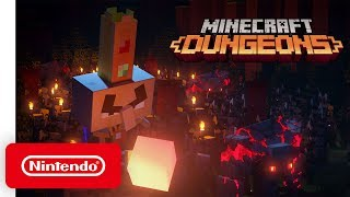 Minecraft Dungeons - Opening Cinematic - Nintendo Switch